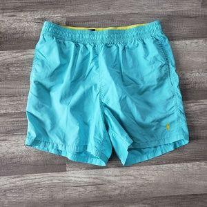 POLO Ralph Lauren Lined Swim Trunks Swimsuit Blue